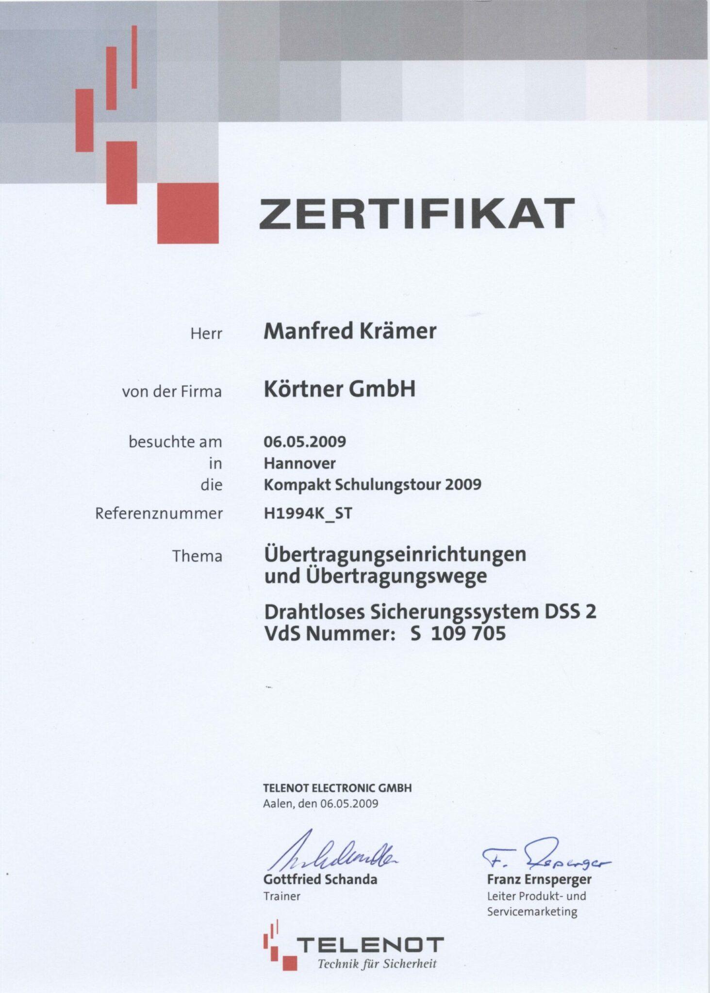 Telenot-2009